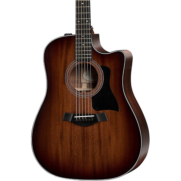 Taylor 300 Series 320ce Dreadnought Cutaway ES2 Acoustic-Electric Guitar Shaded Edge Burst