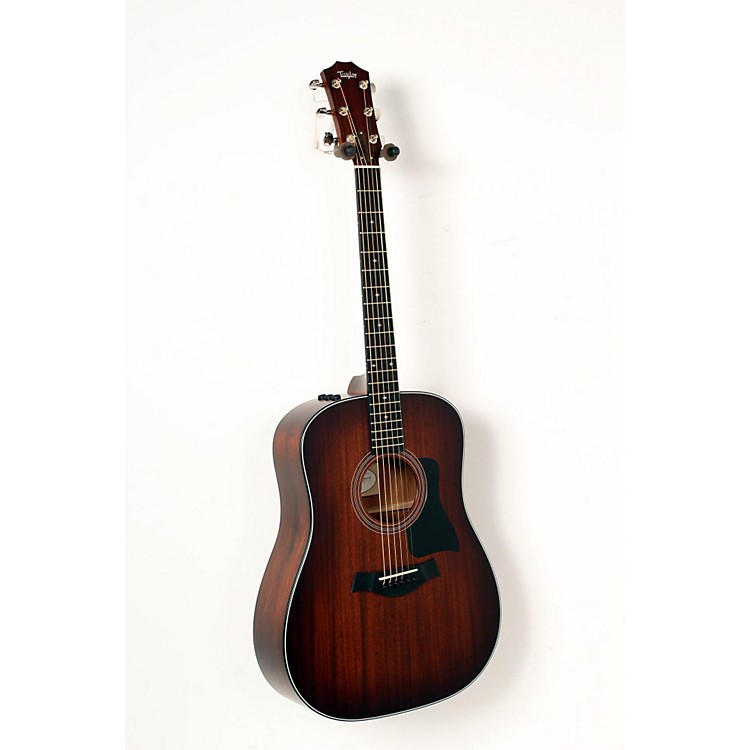 Taylor 300 Series 320e-SEB Dreadnought Acoustic-Electric Guitar Shaded Edge Burst 888365850573
