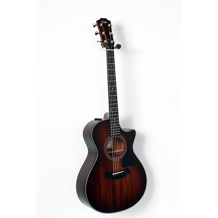 Taylor 300 Series 322ce Grand Concert Acoustic-Electric Guitar Shaded Edge Burst 888365896038
