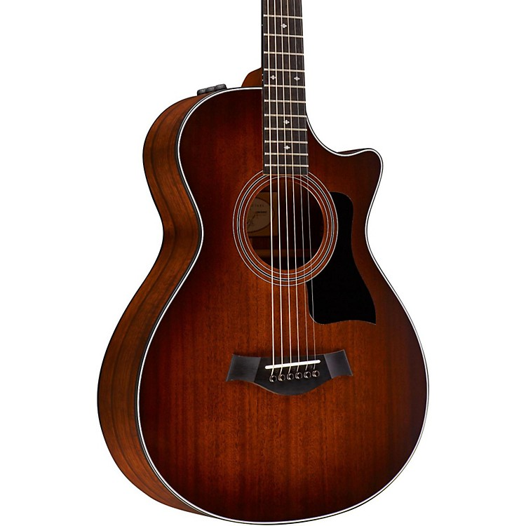 Taylor 300 Series 322ce-SEB 12-Fret Grand Concert Acoustic-Electric Guitar Shaded Edge Burst