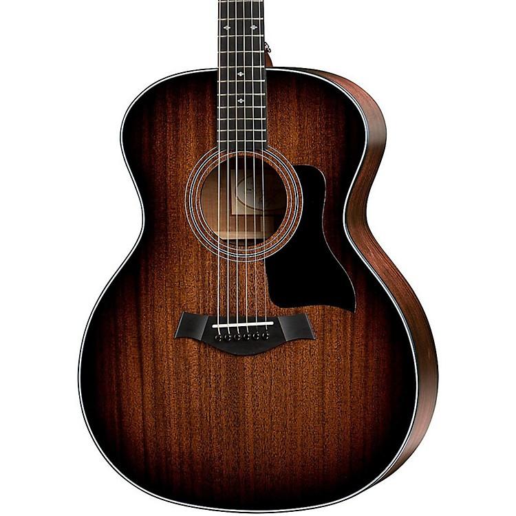 Taylor300 Series 324-SEB Grand Auditorium Acoustic GuitarShaded Edge Burst