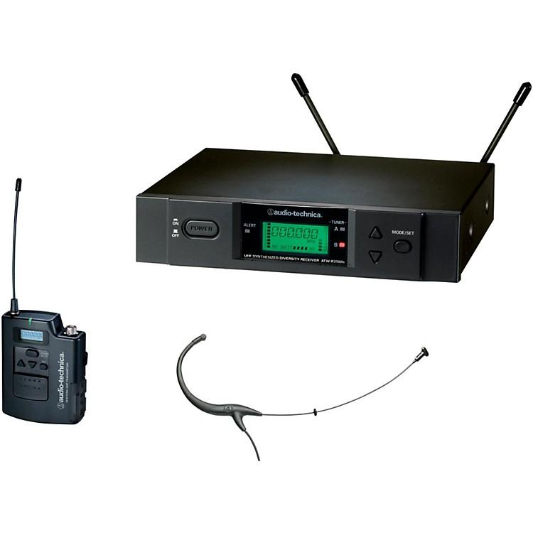 Audio-Technica3000 Series Headworn Wireless Microphone System / C BandBlackC-Band