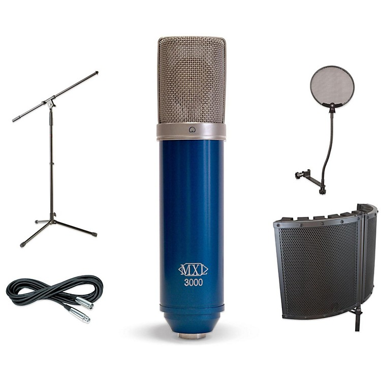 MXL3000 VS1 Stand Pop Filter and Cable Kit