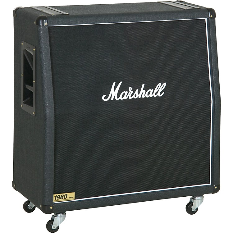 Marshall 300W 4x12 Guitar Extension Cabinet 1960A Angled