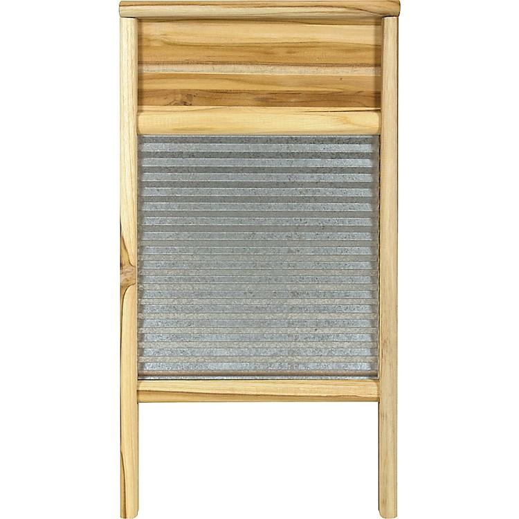 Columbus Washboard3020 Galvanized WashboardTeak12-7/16x23-3/4 Inches