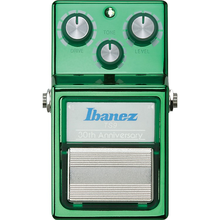 Ibanez30th Anniversary TS9 Tube Screamer Overdrive Guitar Effects Pedal