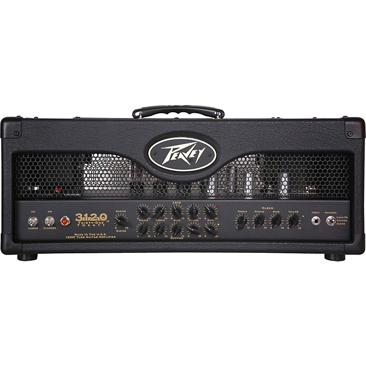 Peavey 3120 120W Tube Guitar Amp Head Black