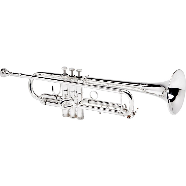 B&S 3137 Challenger II Series Professional Bb Trumpet 3137/2Lr-S Silver With Reverse Leadpipe