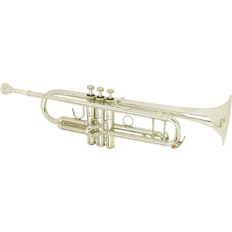 B&S 3143 Challenger II Custom Series Bb Trumpet Silver Heavy Bell