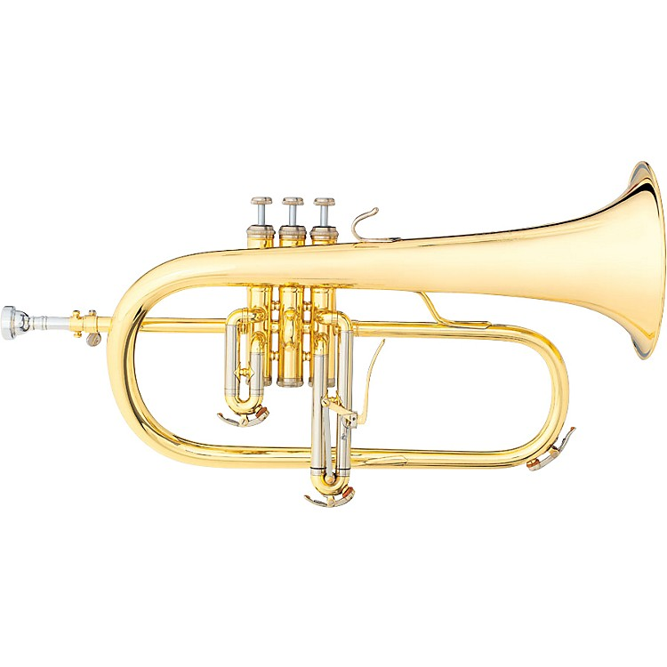 B&S 3145 Challenger I Series Bb Flugelhorn 3145-L Yellow Brass Bell