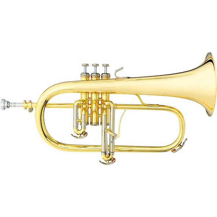 B&S3145 Challenger I Series Bb FlugelhornGold Brass Bell