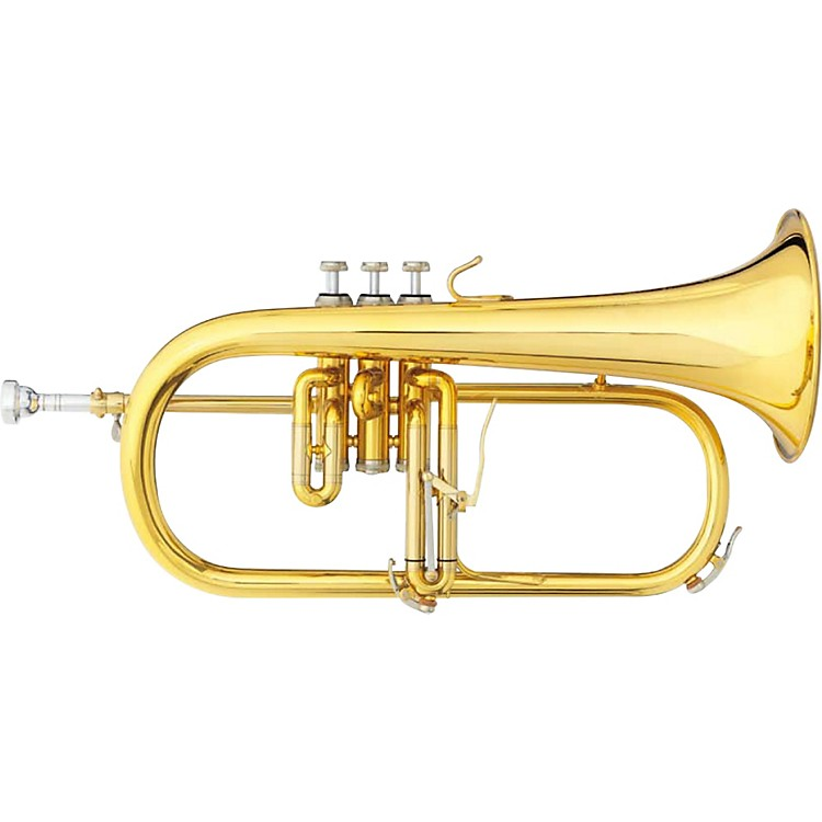 B&S 3146 Challenger II Brochon Series Bb Flugelhorn 3146/2-GL Yellow Brass Bell