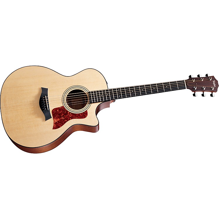 Taylor 314ce-L Sapele/Spruce Grand Auditorium Left-Handed Acoustic-Electric Guitar Natural