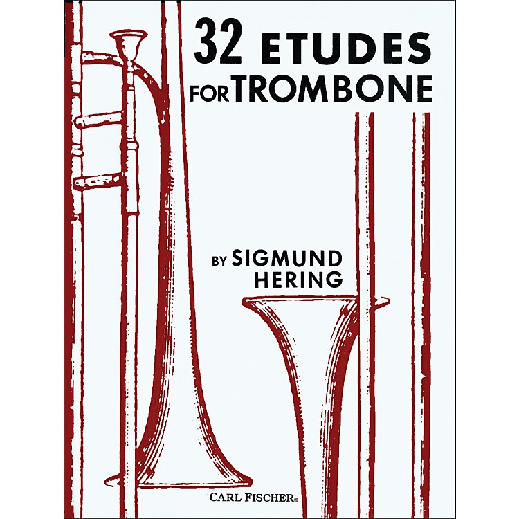 Carl Fischer 32 Etudes for Trombone