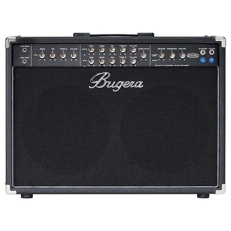 Bugera333XL 120W 2x12 3-Channel Tube Guitar Combo Amp with Reverb