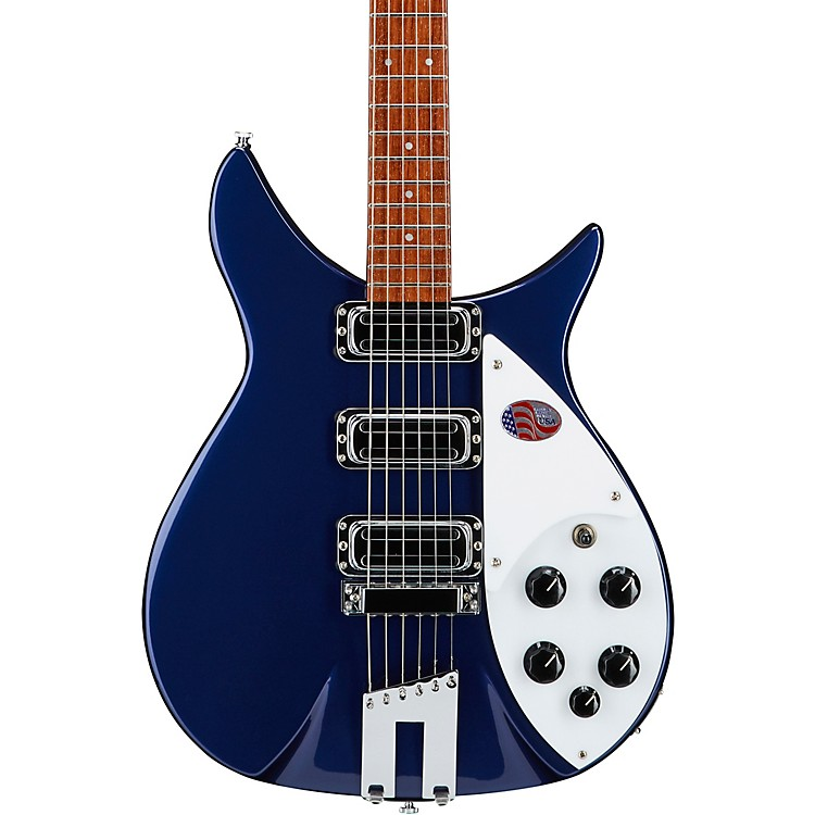 Rickenbacker 350V63 Electric Guitar Midnight Blue