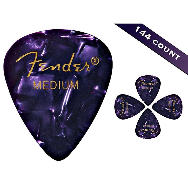 Fender351 Premium Medium Guitar Picks - 144 CountPurple Moto