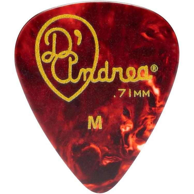 D'Andrea351 Vintage Celluloid Guitar Picks One Dozen