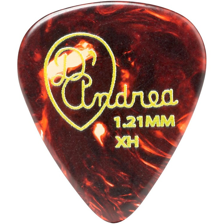 D'Andrea 351 Vintage Celluloid Guitar Picks One Dozen Shell 1.21 mm