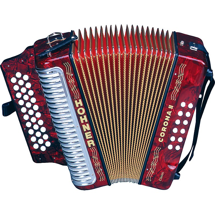 Hohner 3522 Corona II Classic GCF Accordion