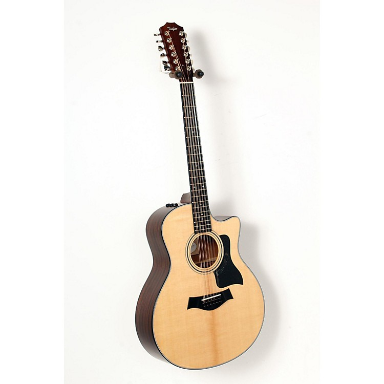 Taylor 356ce Grand Symphony Cutaway 12-String Acoustic-Electric Guitar Natural 888365851426