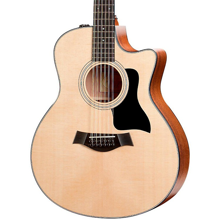 Taylor356ce Grand Symphony Cutaway 12-String Acoustic-Electric GuitarNatural