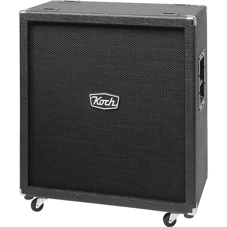 Koch360W 4x12 Guitar Extension CabinetBlack/BlackStraight