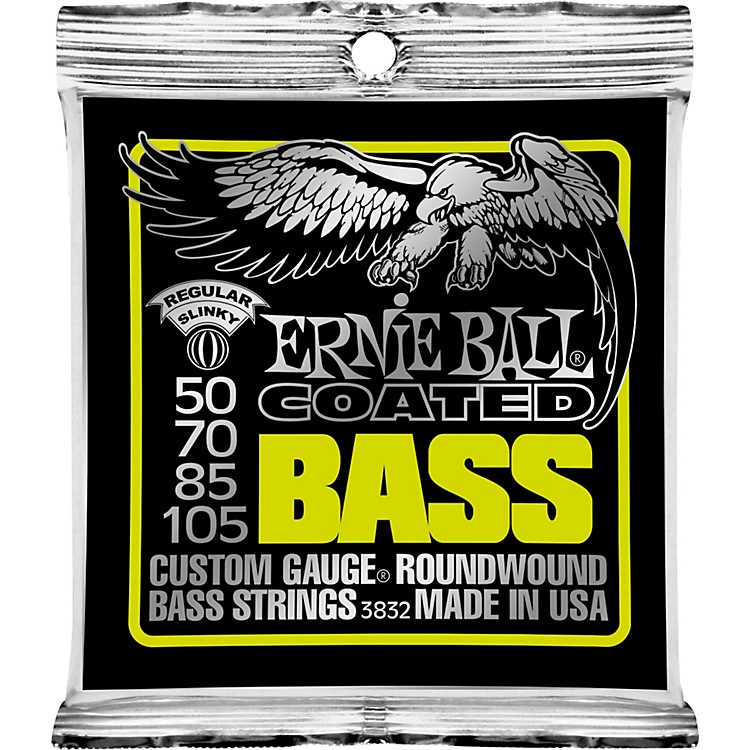 Ernie Ball3832 Coated Bass Strings - Slinky