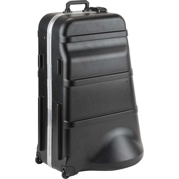 SKB 385W Mid-SizeD Universal Tuba Case with Wheels