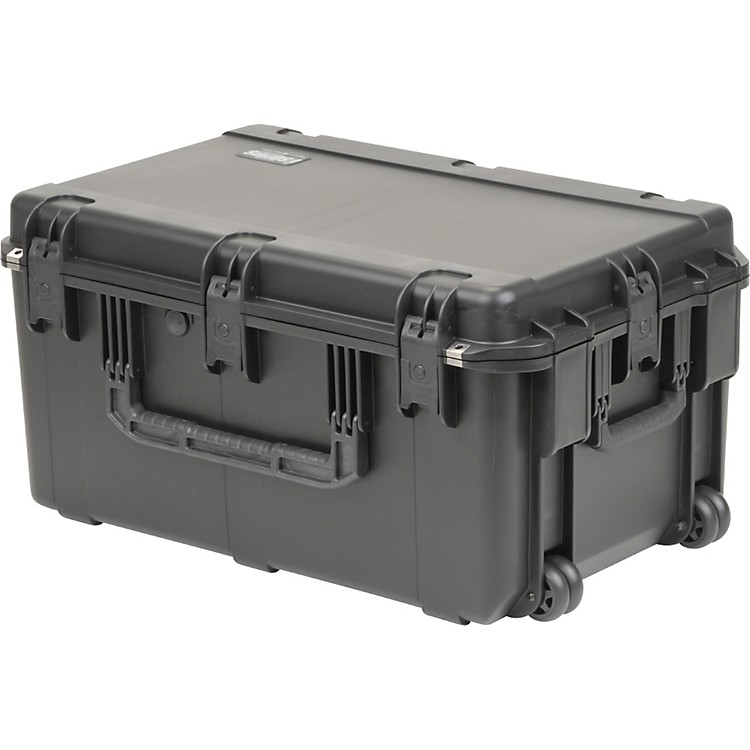 SKB3I-2918-14B - Military Standard Waterproof Case with WheelsWith Cubed Foam