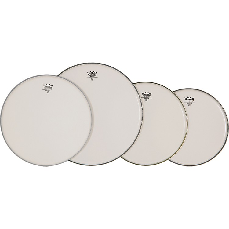 Remo 4-Piece Emperor Smooth White Batter Head Pre-pack