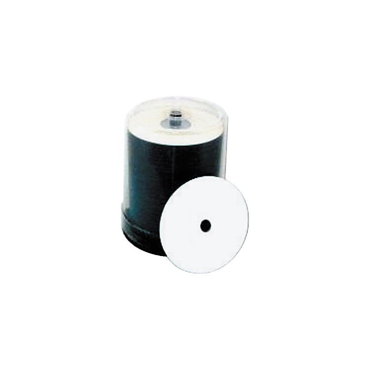 Taiyo Yuden4.7GB DVD+R, 16X, White Inkjet-Printable and Hub Printable, 100 Disc Spindle