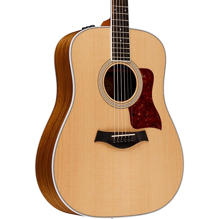 Taylor400 Series 410e Dreadnought Acoustic-Electric GuitarNatural