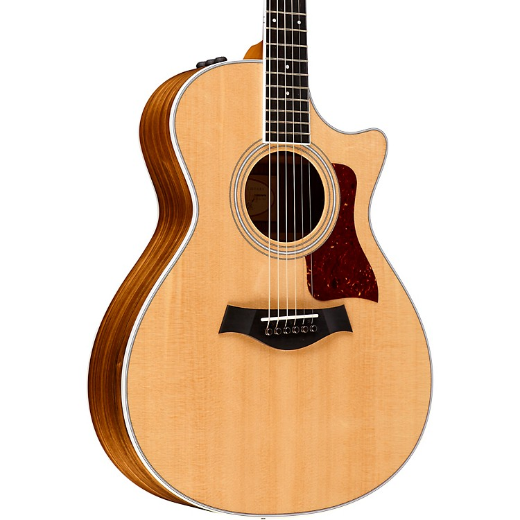 Taylor400 Series 412ce Grand Concert Acoustic-Electric GuitarNatural