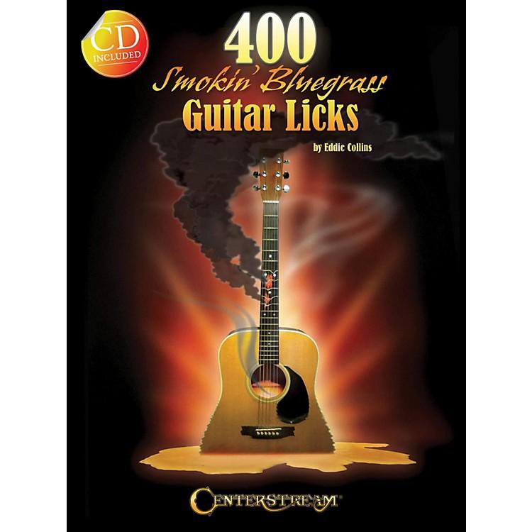 Hal Leonard400 Smokin' Bluegrass Guitar Licks Book/CD