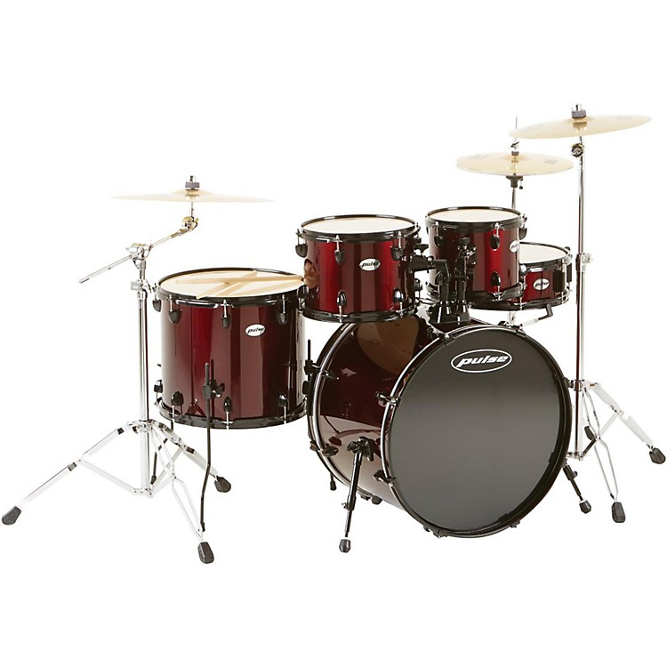 Pulse 4000 Series 5-Piece Shell Pack Wine Red