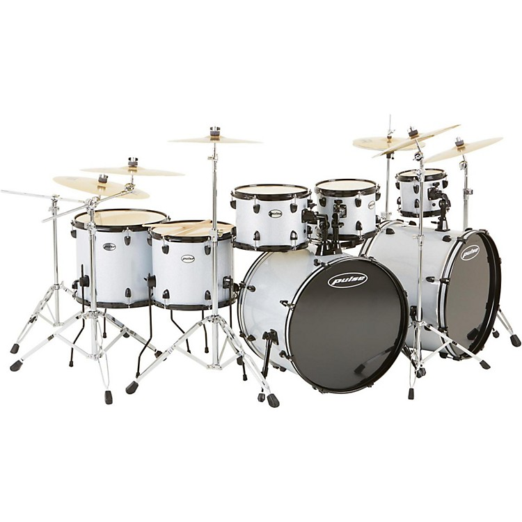 Pulse 4000 Series 8-Piece Shell Pack with PDP Hardware Silver