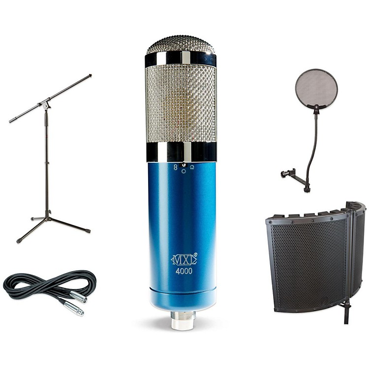 MXL4000 VS1 Stand Pop Filter and Cable Kit