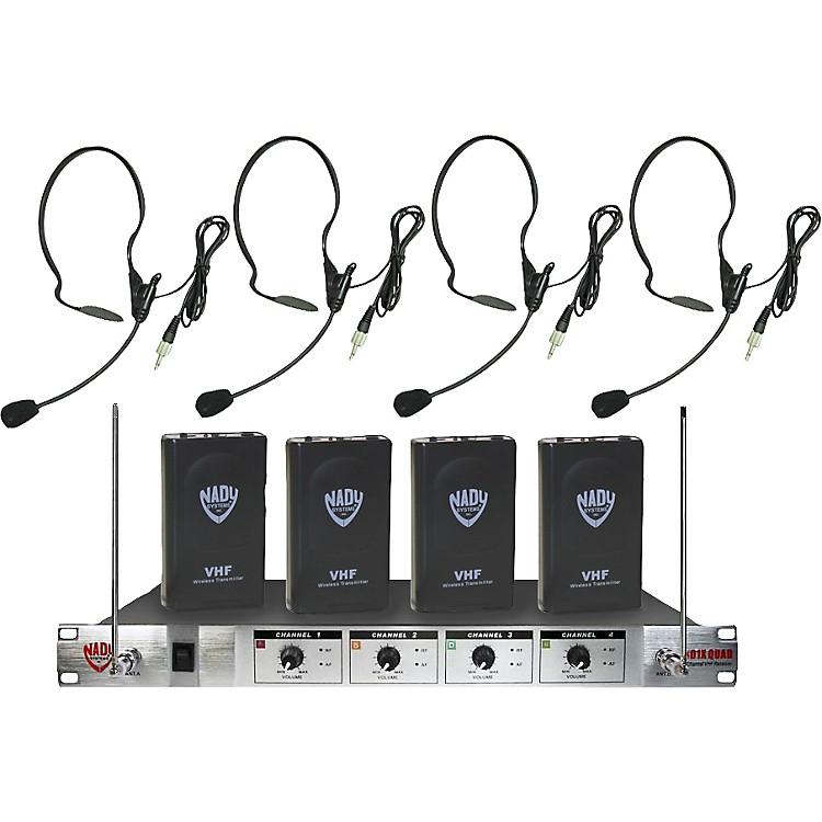 Nady401X Quad HM-3 Headset Wireless System