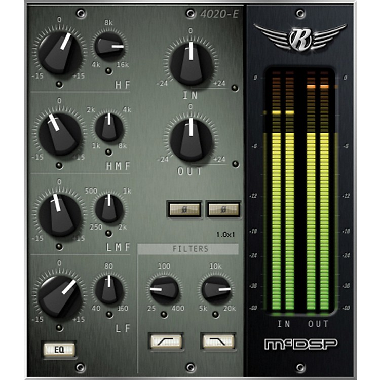 McDSP 4020 Retro EQ Native v5 Software Download