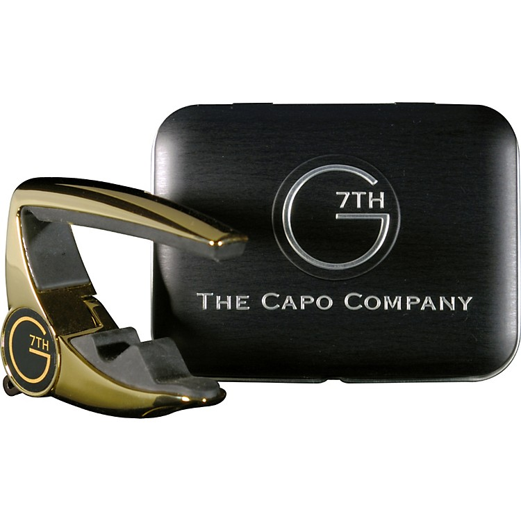 G7th405 Performance Capo Limited Edition Gold