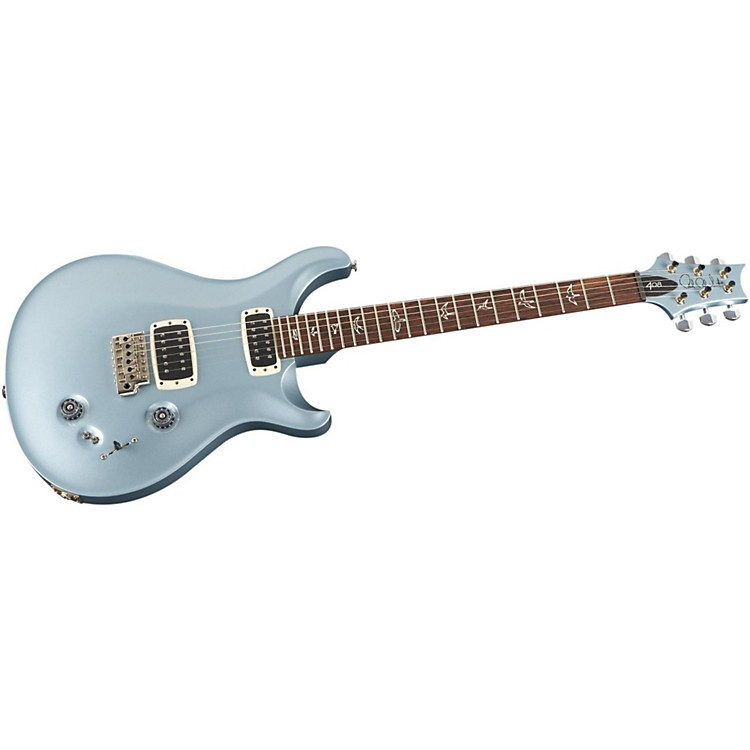 PRS 408 with Pattern Thin Neck and Nickel Hardware Electric Guitar Frost Blue Metallic