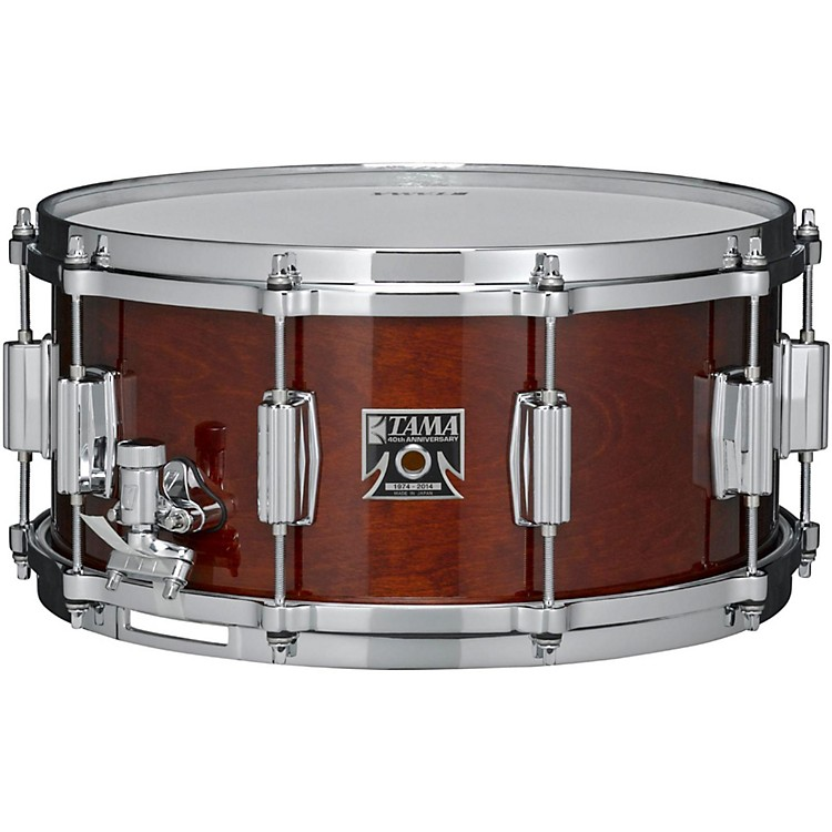 Tama 40th Anniversary Limited Superstar Birch Reissue Snare Super Mahogany 14x6.5