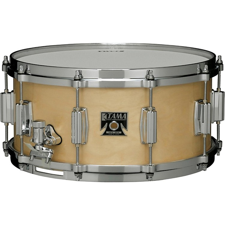Tama 40th Anniversary Limited Superstar Birch Reissue Snare Super Maple 14x6.5
