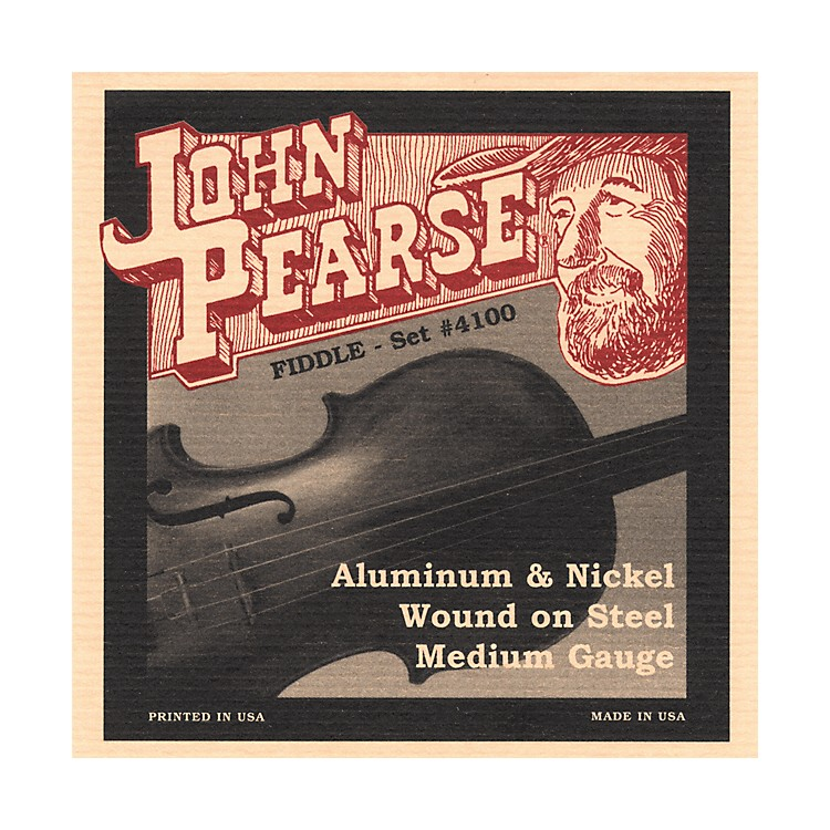 John Pearse 4100 Flat Wound Fiddle Strings