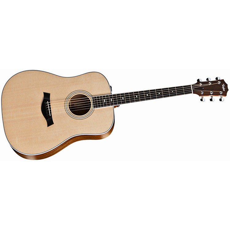 Taylor 410e Ovangkol/Spruce Dreadnought Acoustic-Electric Guitar Natural