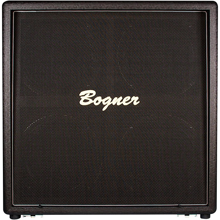 Bogner412STU 210W 4x12 Uberkab Guitar Speaker Cabinet Comet StraightBlackStraight