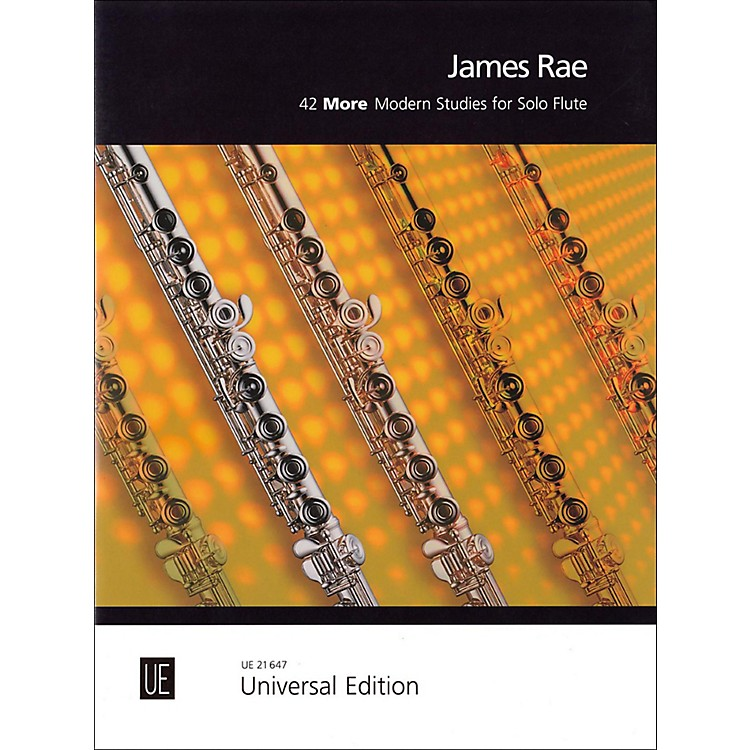 Carl Fischer42 More Modern Studies for Solo Flute