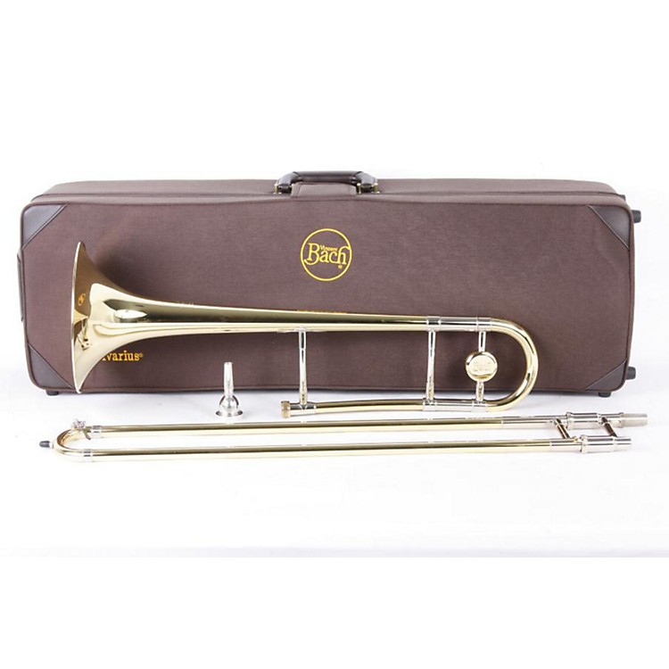 Bach 42 Stradivarius Series Trombone Yellow Brass Bell 886830337857