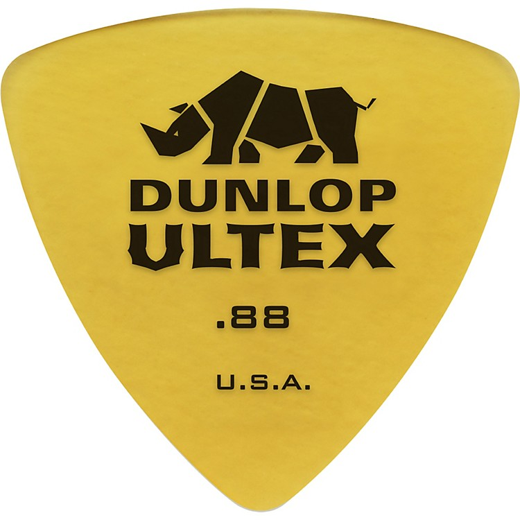 Dunlop 426P Ultex Rounded Triangle Guitar Picks 6 Pack